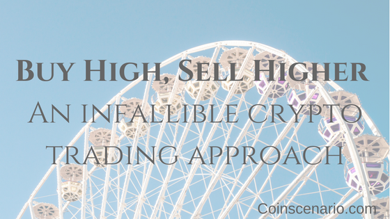 Buy High, Sell Higher: An infallible approach to Crypto Trading!