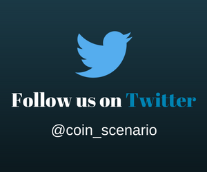 Follow us on Twitter - CoinScenario.com