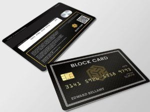 The Block Card - Ternio